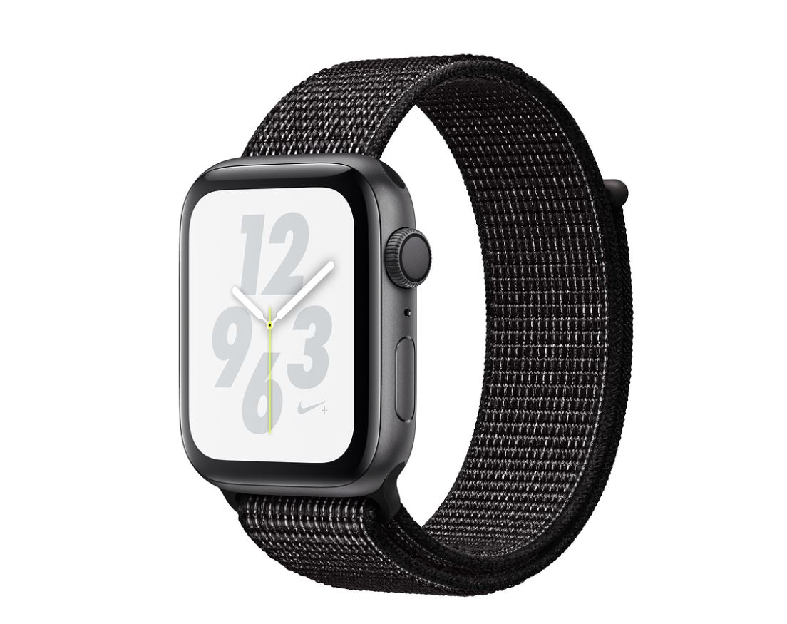 Watch Nike+, S4, 40mm, Sp Grey/Black Sport Loop