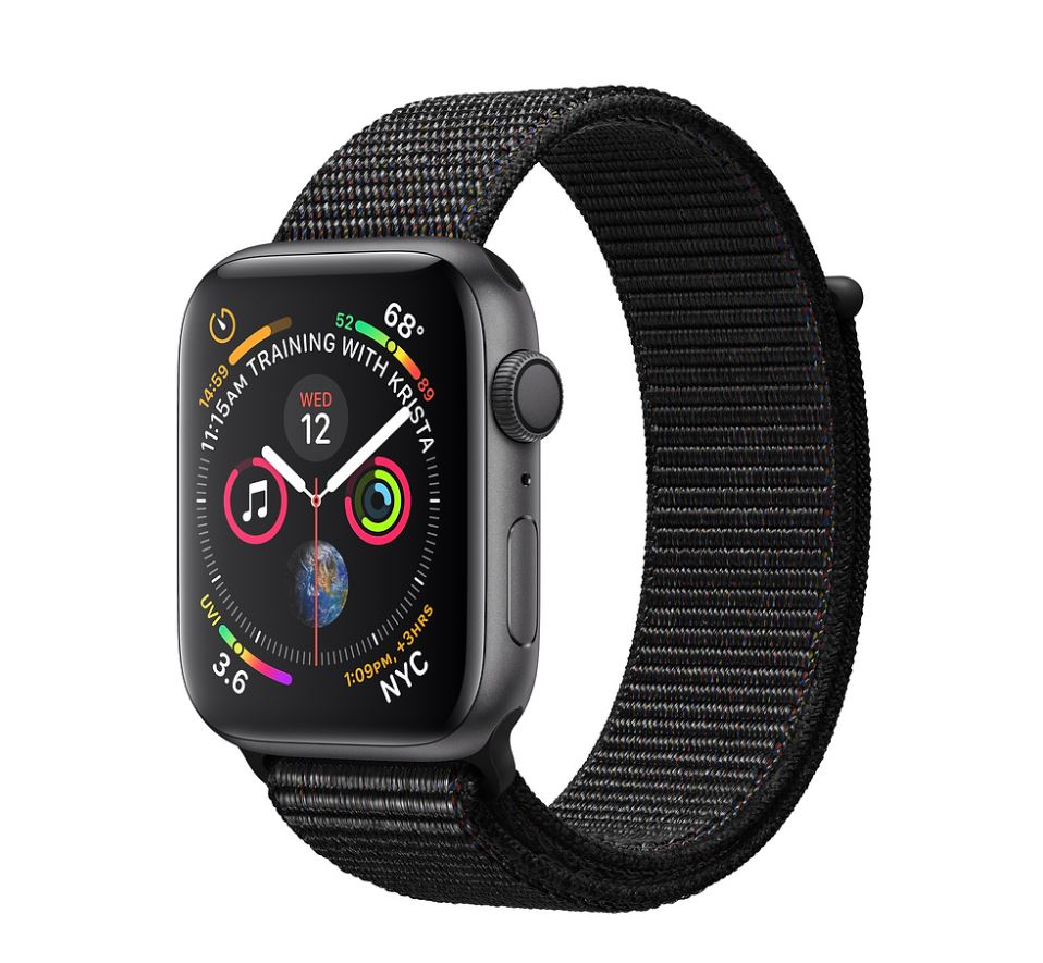 Watch S4, 44mm, Sp Grey/Black Sport Loop