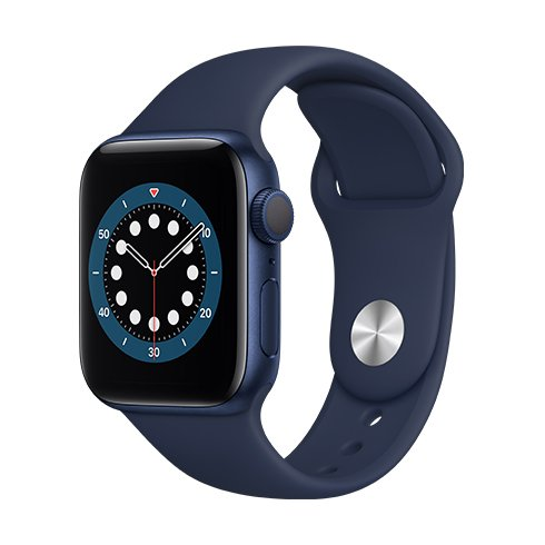 Watch S6, 40mm, Blue Deep Navy SportB