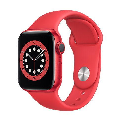 Watch S6, 40mm, PRODUCT(RED)/(RED) SportB / SK