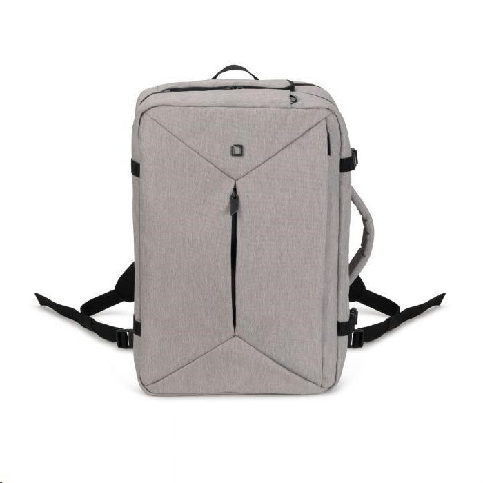 D31716 DICOTA Backpack Dual Plus EDGE 13-15.6 light grey