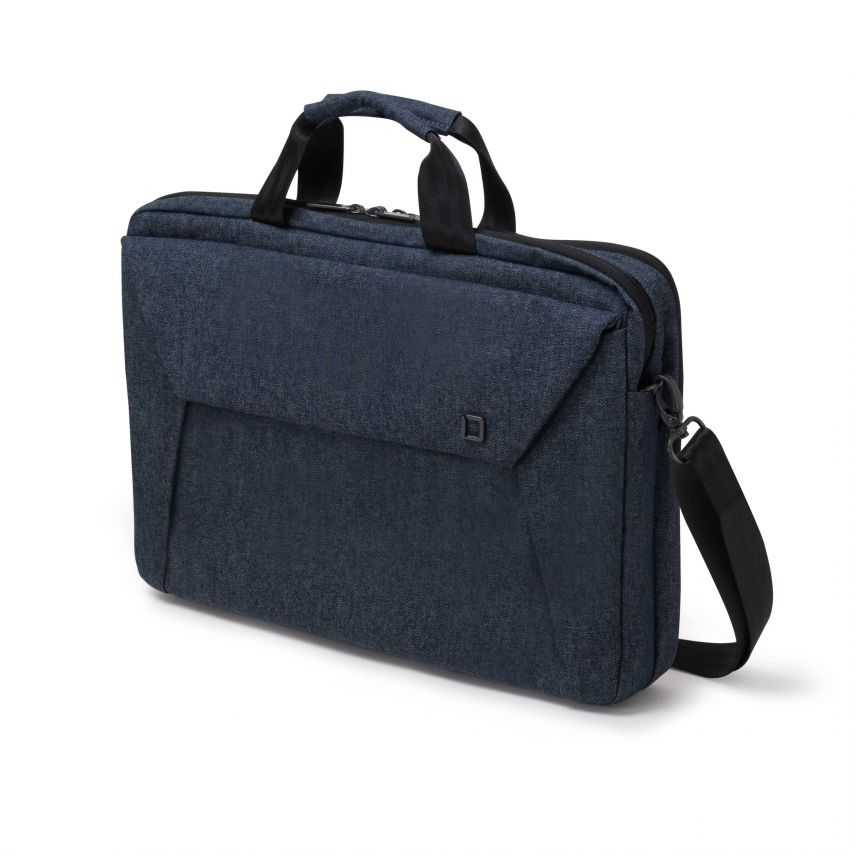 D31521 Dicota Slim Case Plus EDGE 14-15.6 blue denim