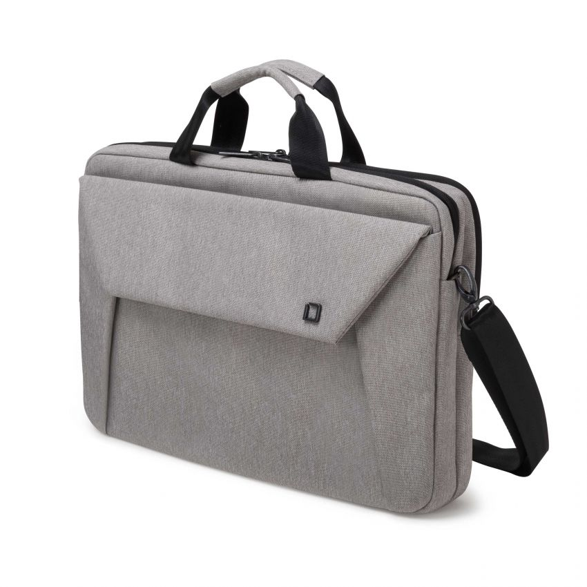 D31523 Dicota Slim Case Plus EDGE 14-15.6 light grey