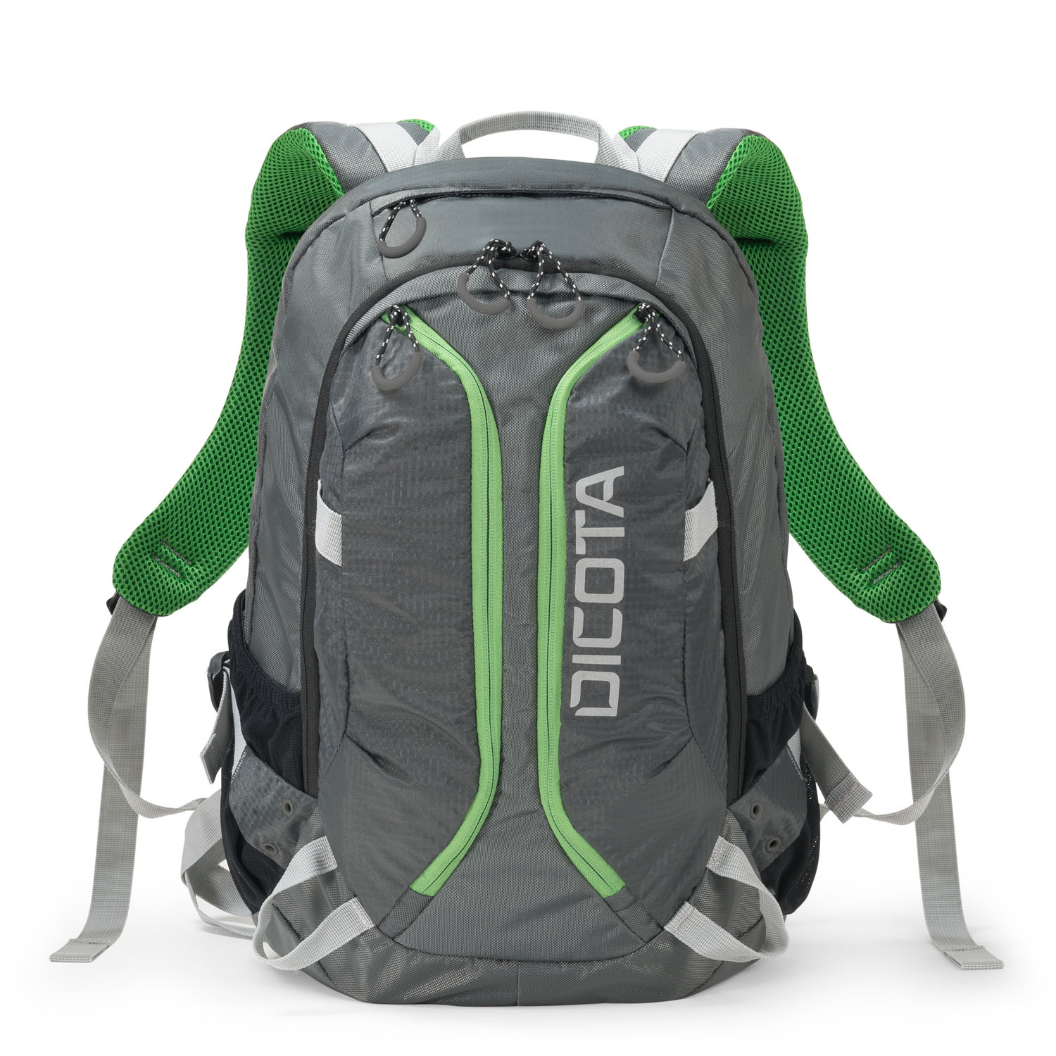 D31221 Dicota Backpack Active 14-15.6 grey/lime