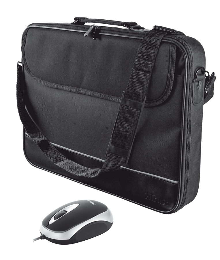 "18902 brašna pro NB TRUST 15-16"" Notebook bag & mouse"