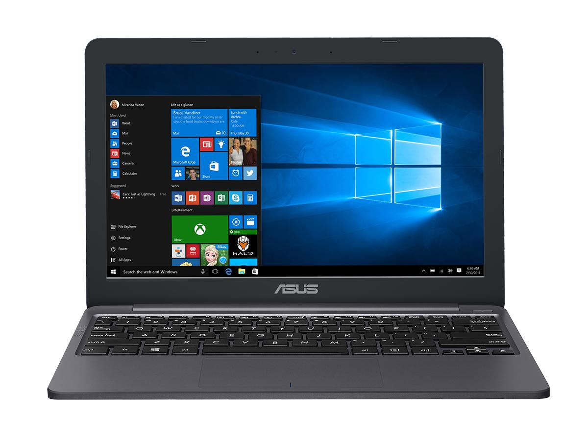 "E203NA-FD110TS ASUS E203 - 11,6""/N3350/4G/128G eMMC/W10 Home in S Mode (Star Grey/Plastic)"