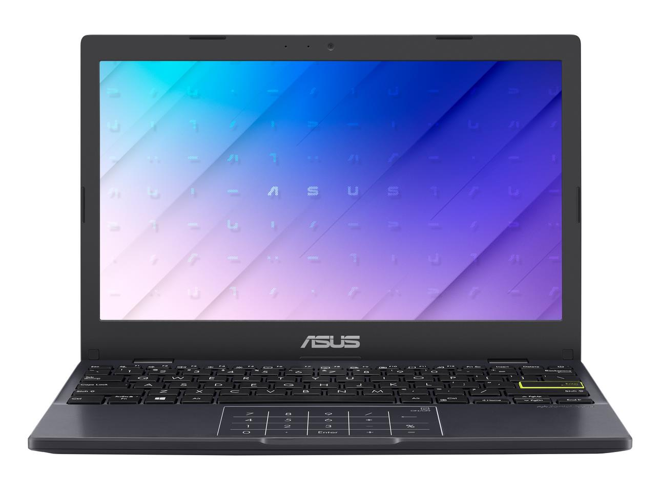 "E210MA-GJ001TS ASUS Laptop E210MA - 11,6"" HD/Celeron N4020/4GB/64G eMMC/W10 Home in S Mode (Peacock Blue/Plastic)"