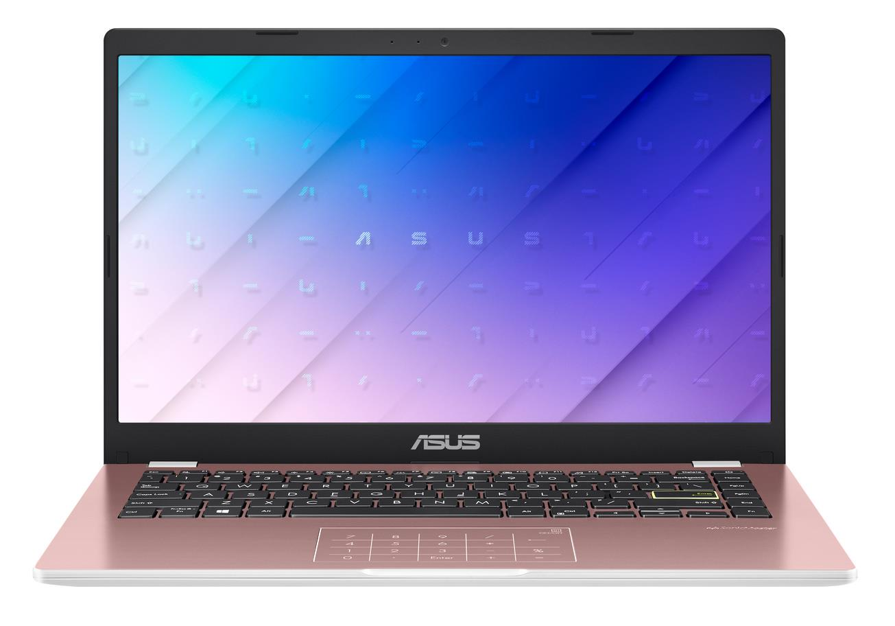 "E410MA-EK017TS ASUS Laptop E410MA - 14"" FHD/Celeron N4020/4GB/64G eMMC/W10 Home in S Mode (Rose Gold/Plastic)"