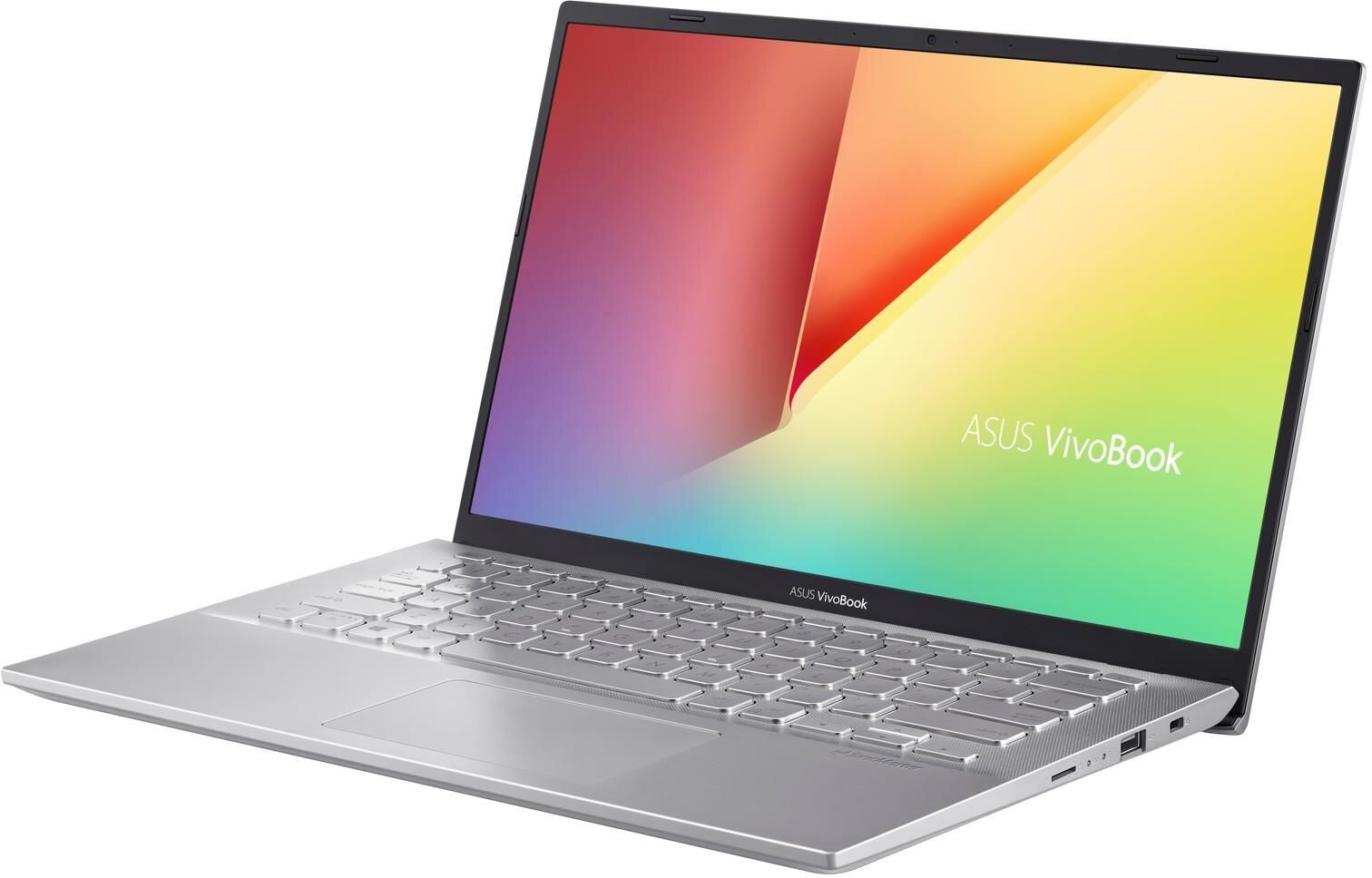 "M412DA-EK012T ASUS Vivobook M412DA - 14"" TN FHD/AMD R3-3200U/4G/128G SSD/W10HomeS (Silver)"