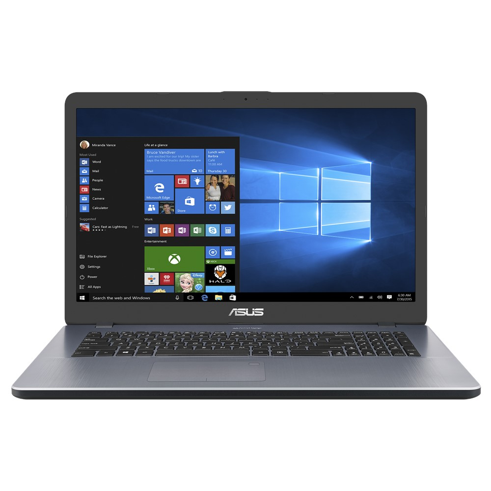 "M705BA-BX033T ASUS M705BA - 17,3"" TN HD+/AMD A4-9125/4G/1T HDD/W10 (Grey)"