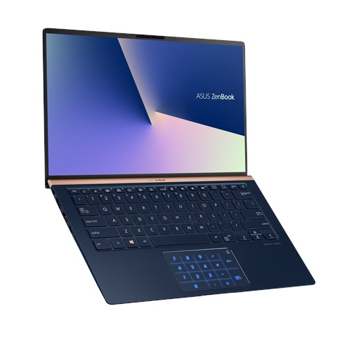 "UX433FN-A5047T ASUS Zenbook UX433FN - 14,0""/i5-8265U/256G M.2 SSD/8G/W10 (Blue) + 2 roky NBD ON-SITE"