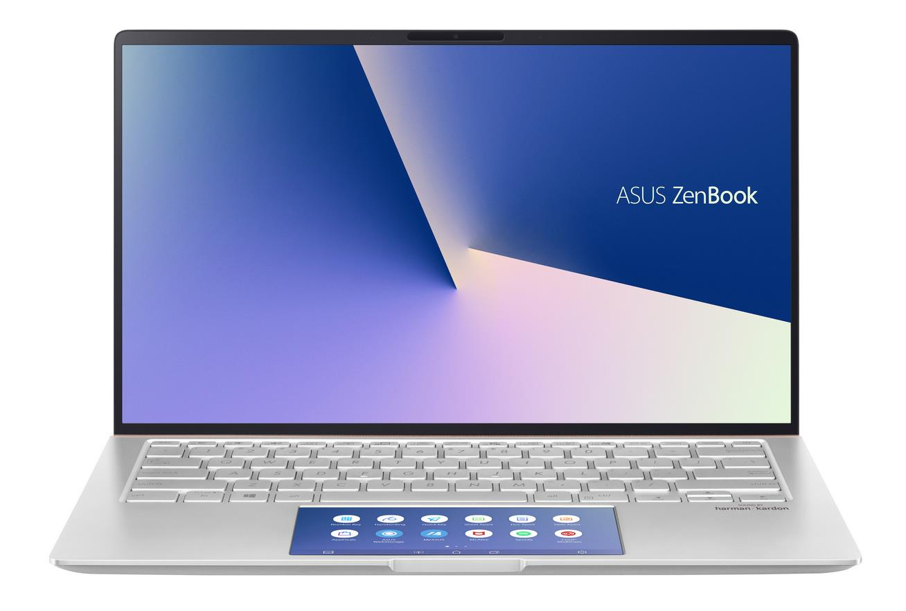 UX434FLC-A5293T ASUS Zenbook UX434FLC 14,0/i5-10210U/512SSD/8G/MX250/W10 (Silver) + 2 roky NBD ON-SITE