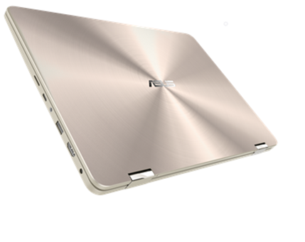 "UX461FA-E1115T ASUS Zenbook Flip UX461FA - 14,0""/i5-8265U/512G M.2 SSD/8G/W10 (Icicle Gold)"