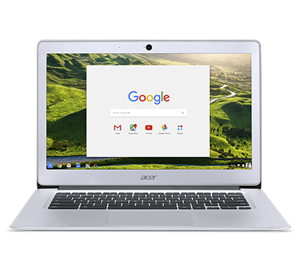 "NX.GC2EC.004 Acer Chromebook 14 - 14""/N3160/4G/64GB/Chrome stříbrný"