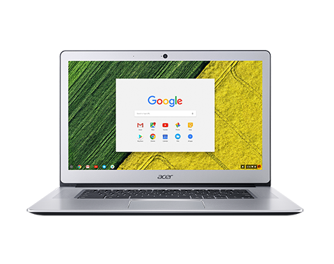 "NX.GP0EC.001 Acer Chromebook 15 - 15,6""/N3450/4G/64GB/Chrome stříbrný"