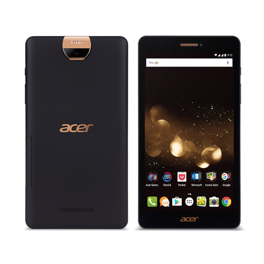 """Acer Iconia Talk S - 7""""/MT8735/16GB/2G/IPS/LTE/Android 6.0 černý"""