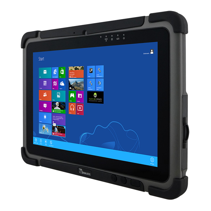 "Winmate M101B-HF - 10.1"" odolný tablet, Celeron N2930, 4GB/64GB, IP65, HF RFID, Windows 10 IoT"