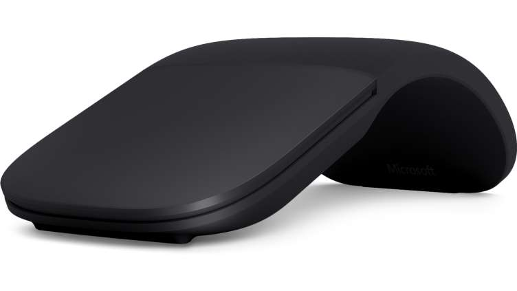 Microsoft Surface Arc Mouse Bluetooth 4.0, černá