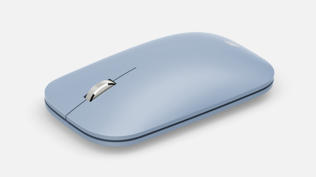 Microsoft Modern Mobile Mouse Bluetooth, Pastel Blue