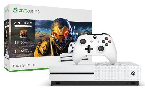 XBOX ONE S 1 TB + Anthem: Legion of Dawn Edition