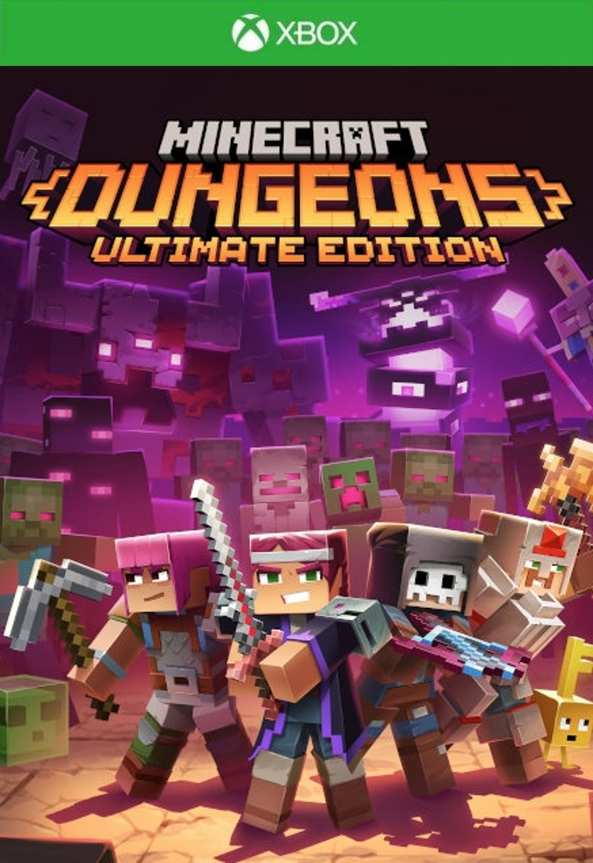 XSX - Minecraft Dungeons Ultimate Edition