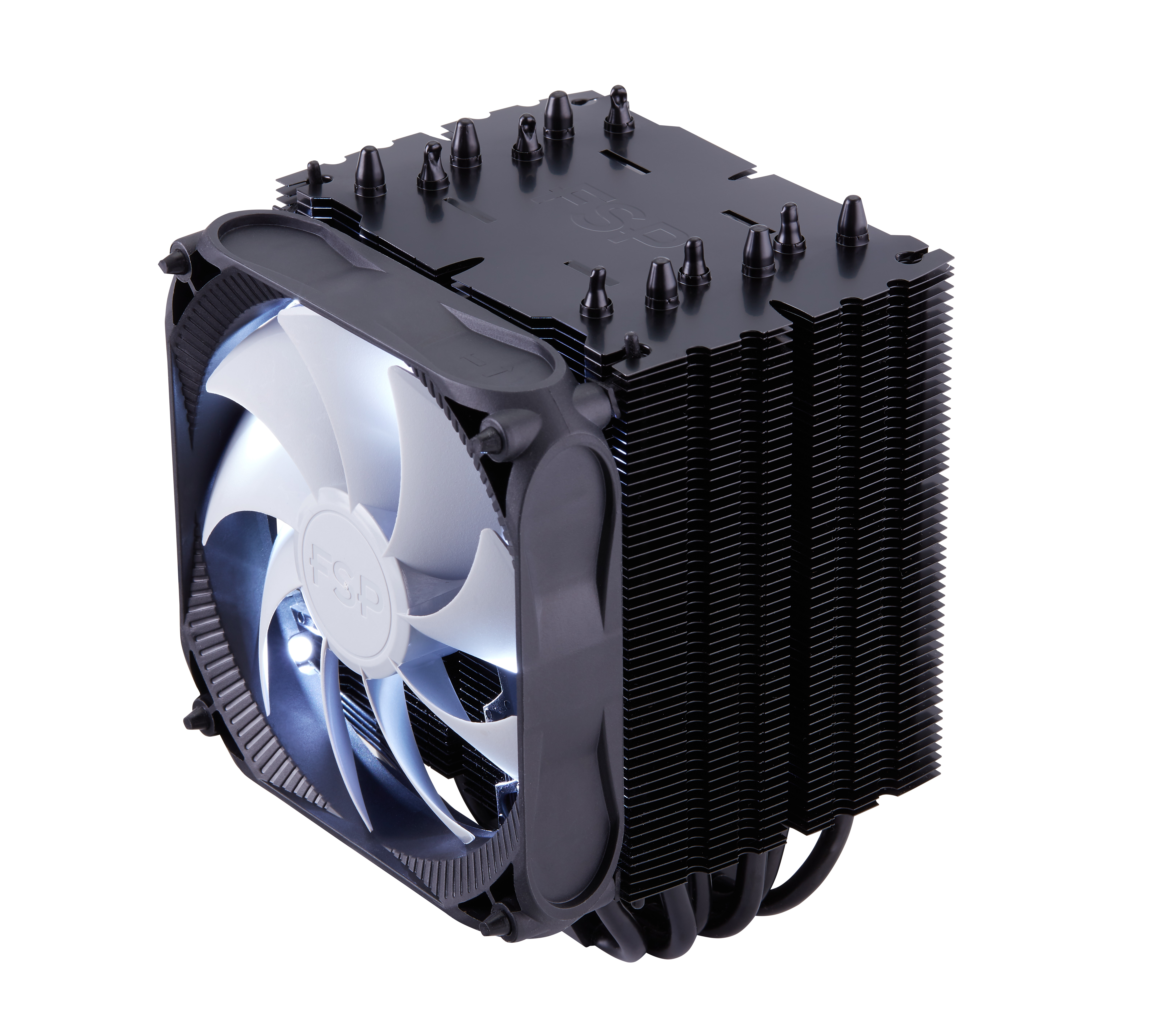 FSP/Fortron Chladič CPU Windale 6 Cooler AC602, 6 Heat-Pipe, 240W TDP, 120 mm PWM white LED
