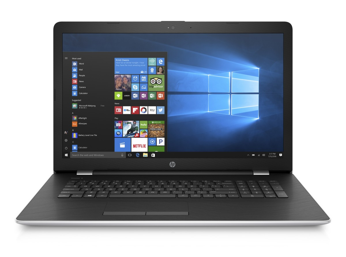 1UH55EA#BCM HP 17-ak036nc FHD A12-9720P/8GB/128SSD+1TB/AMD4GB/DVD/2RServis/W10 Natural silver