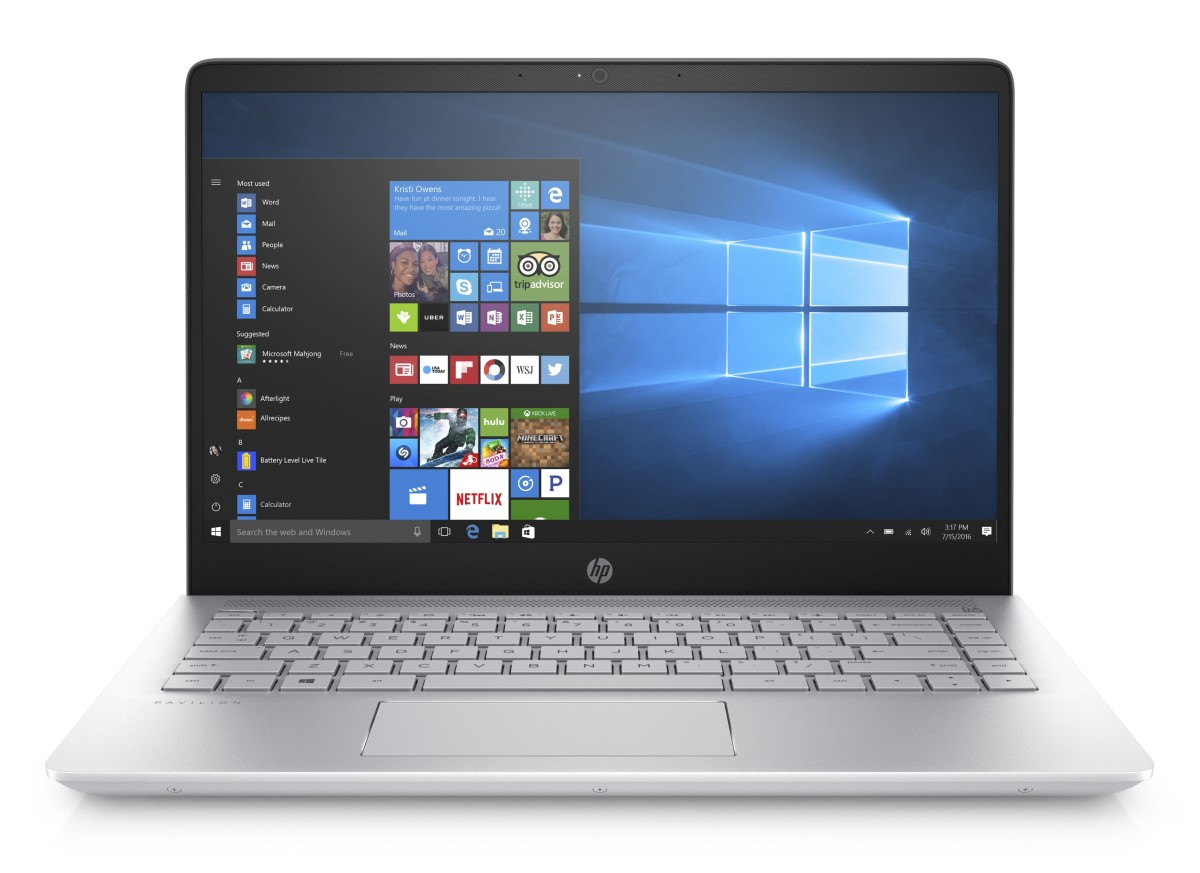 1US34EA#BCM HP Pavilion 14-bf007nc FHD i7-7500U/8GB/256SSD+1TB/NV/2Rservis/W10-Mineral Silver