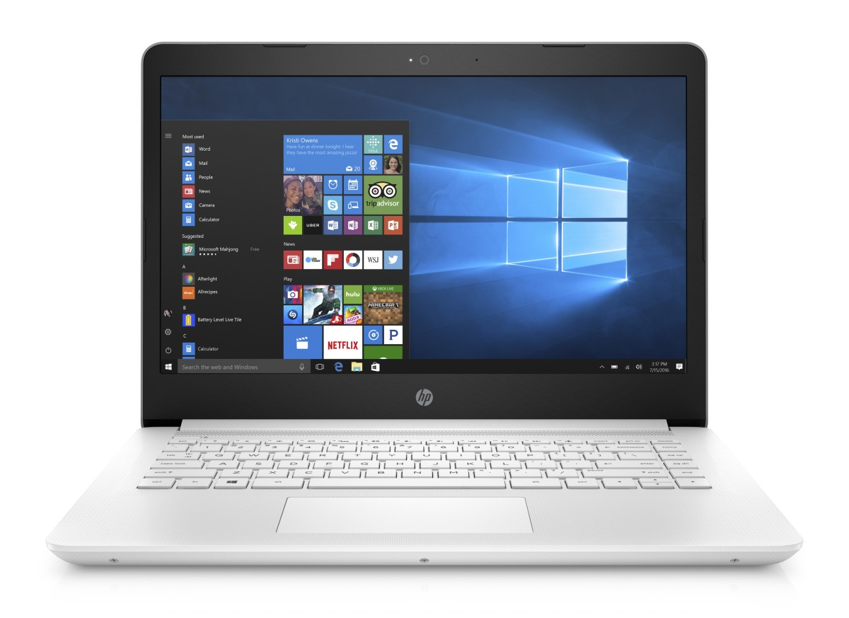 1UY72EA#BCM HP 14-bp002nc HD N3710/4GB/1TB/2RServis/W10-snow white