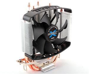 Chladič Zalman CNPS5X Performa 92mm fan PWM, 3x heatpipe