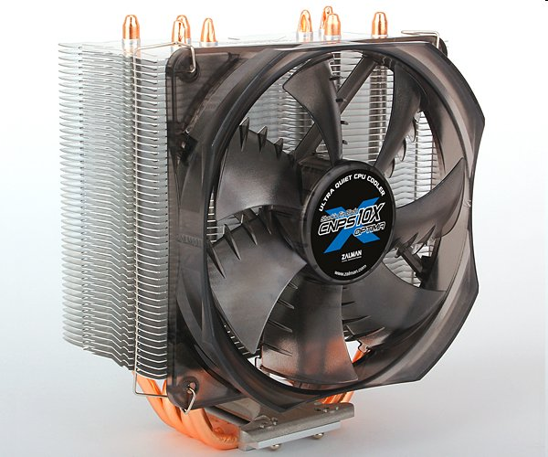 Chladič Zalman CNPS10X OPTIMA 2011 Direct Touch Heatpipe 120mm fan,4x heatpipe