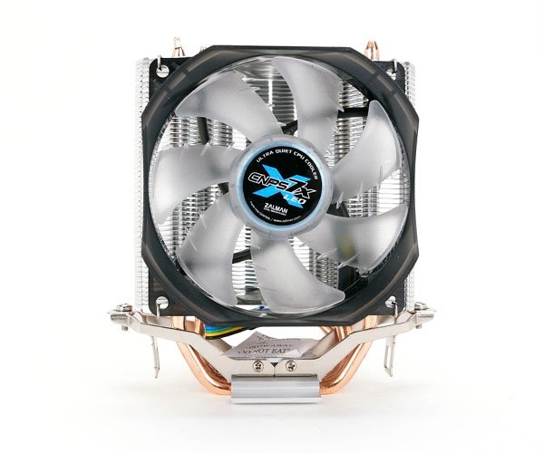 Chladič Zalman CNPS7X PLUS LED 92 mm Blue LED Fan PWM 3x heatpipe