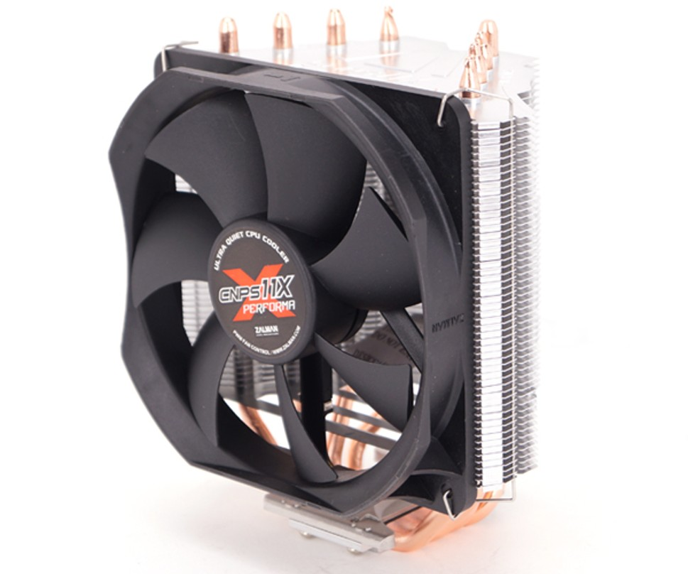Chladič Zalman CNPS11X PERFORMA+ 120mm PWM Fan, 4x heatpipe