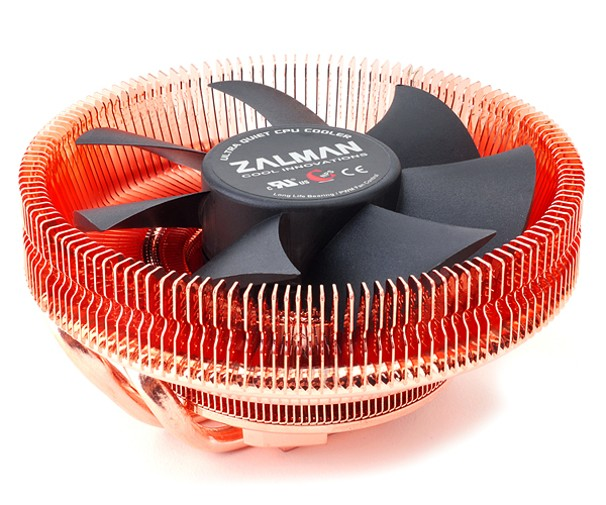 Chladič Zalman CNPS8900 QUIET tichý 110mm PWM Fan, 2x heatpipe
