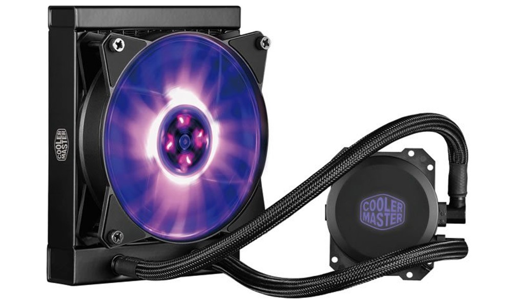 vodní chladič Cooler Master MasterLiquid ML120L RGB, univ. socket, 240mm PWM fan
