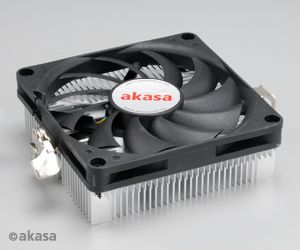 AKASA chladič CPU - mini-ITX pro Amd - low profile