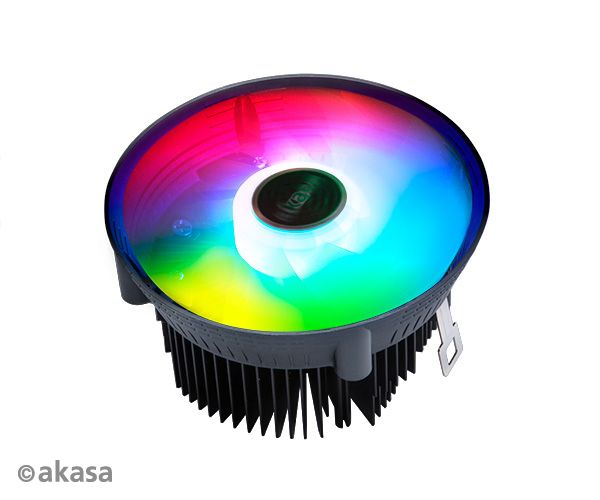 AKASA chladič CPU - AMD - aRGB - Vegas Chroma AM
