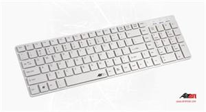 AIREN KEYBOARD AiBoard Slim White CZ