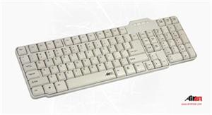 AIREN KEYBOARD AiBoard Office White PC Color CZ