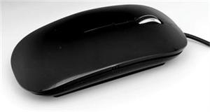 ACUTAKE PURE-O-MOUSE Black 800/1200DPI (USB)