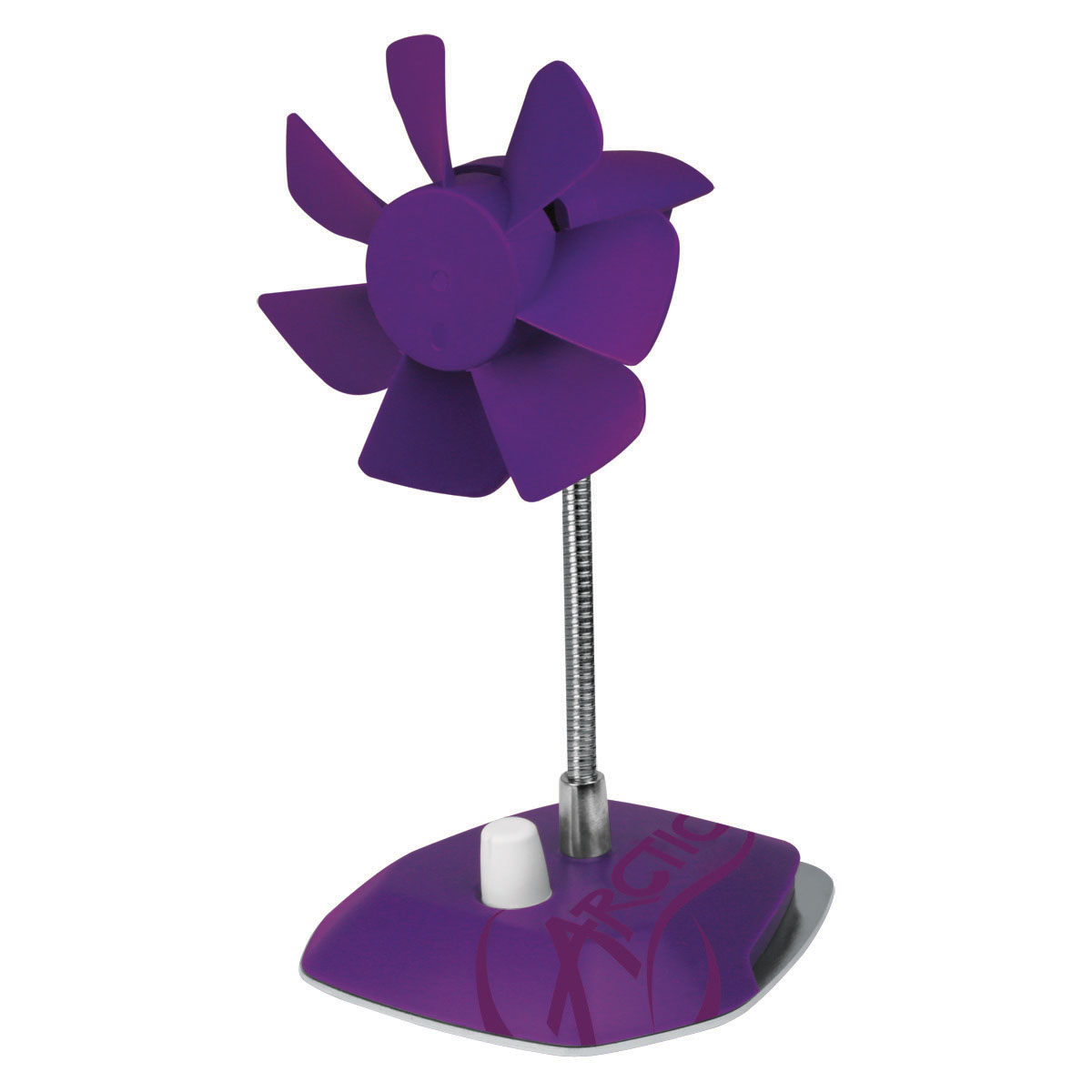 ABACO-BRZPP01-BL ARCTIC Breeze Color Edition PURPLE - USB desktop fan
