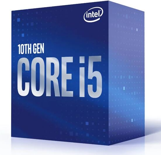 CPU Intel Core i5-10400F BOX (2.9GHz, LGA1200)