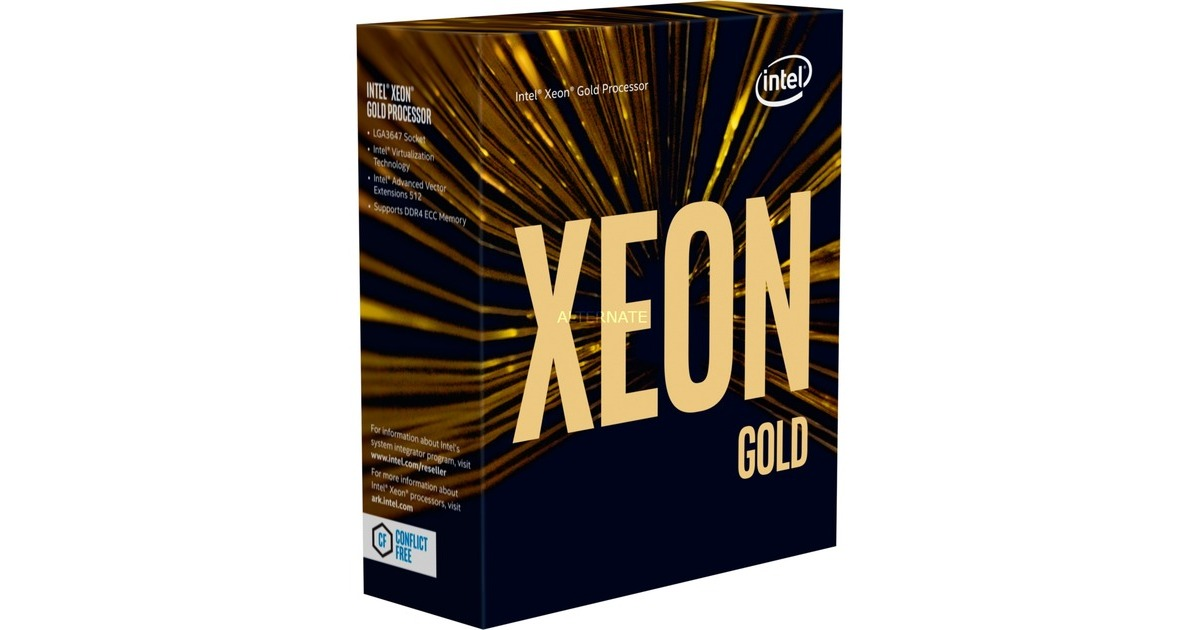 CPU Intel Xeon 6240 (2.6GHz, FC-LGA3647, 24.75M)