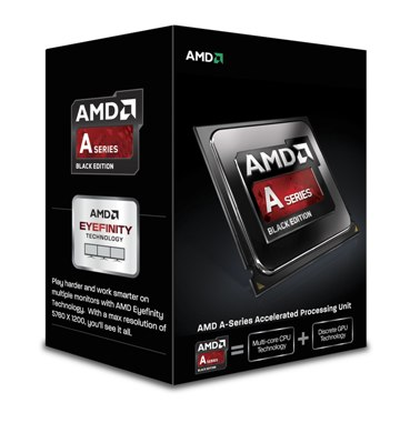 CPU AMD Richland A6-6400K 2core Box (3,9Ghz, 1MB)