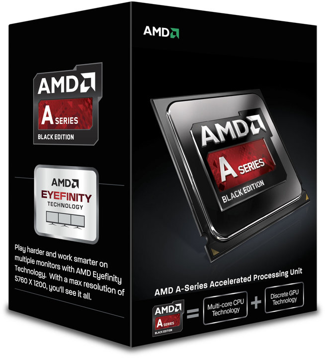 CPU AMD Godavari A10-7860K 4c Box (3,6Ghz,4MB) qui