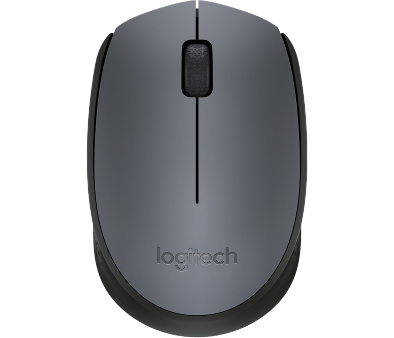 myš Logitech Wireless Mouse M170, šedá