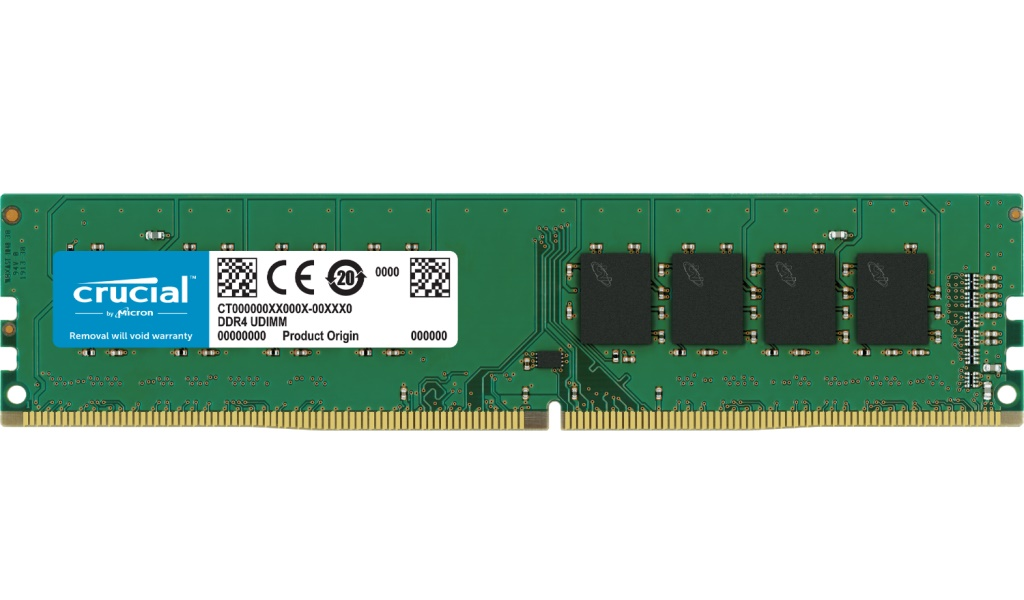 32GB DDR4 2666MHz Crucial CL19