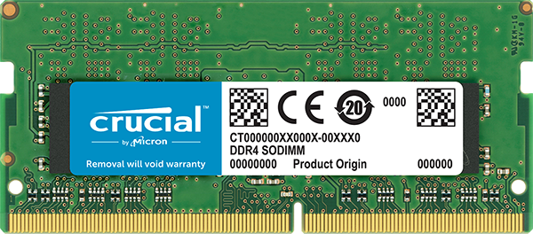SO-DIMM 8GB DDR4 2400MHz Crucial CL17 DR