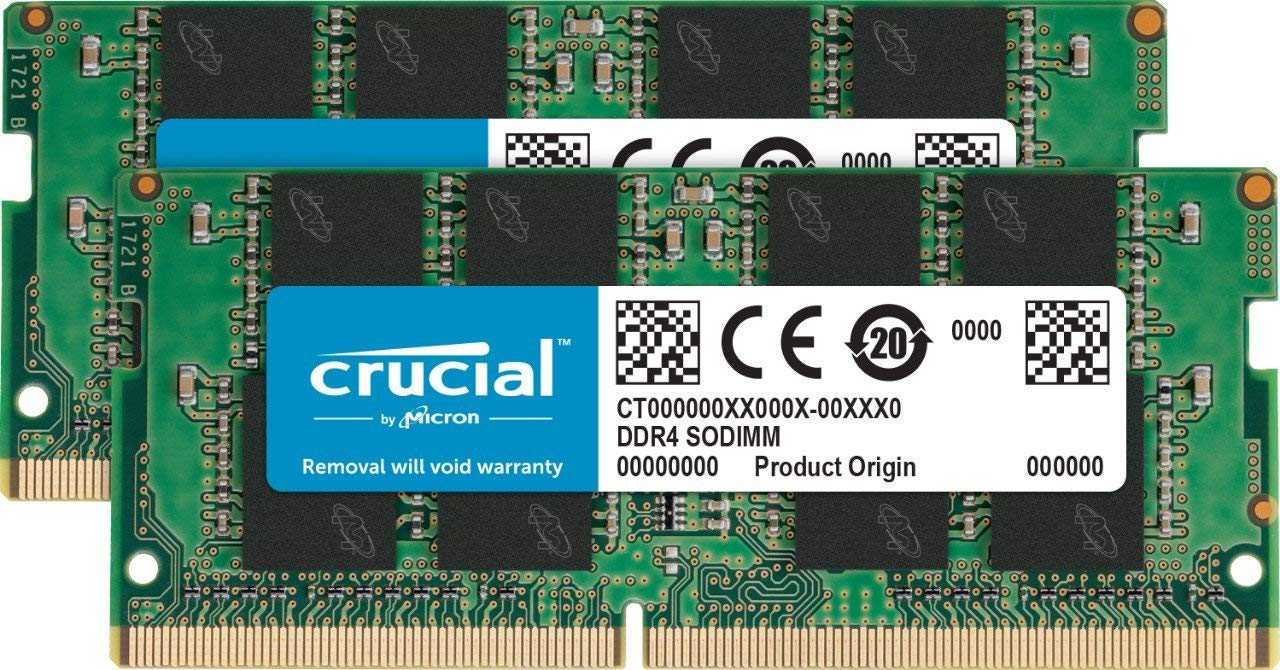 SO-DIMM 4GB DDR4 2400MHz Crucial CL17 2x2GB