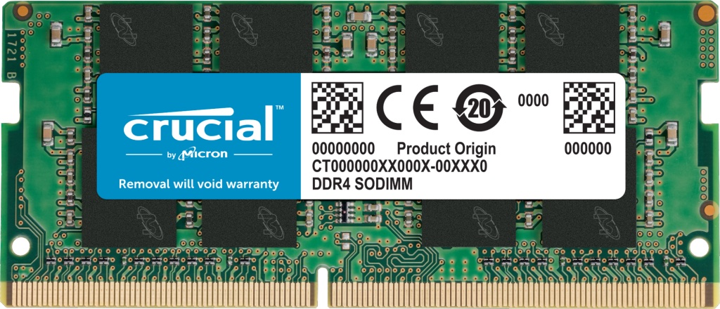 SO-DIMM 16GB DDR4 3200MHz Crucial CL22 Crucial